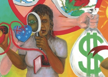 gordon_hookey_you_cant_have_our_spirituality_without_our_political_reality_2003_detail_oil_on_canvas_1015_x_122_cm.jpg