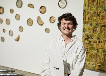 Sydney-based sculptor Joshua Reeves wins the TWT Excellence Prize