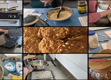 Bake Together: Anzac Biscuits Live