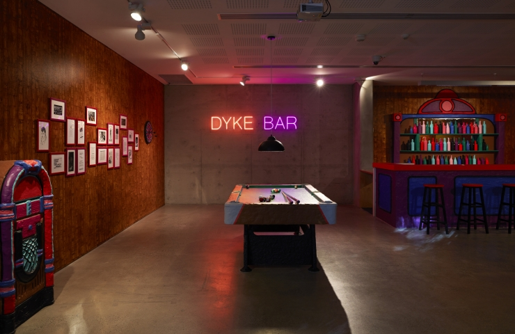 Macon Reed 'Eulogy for the Dyke Bar' 2016 Tile