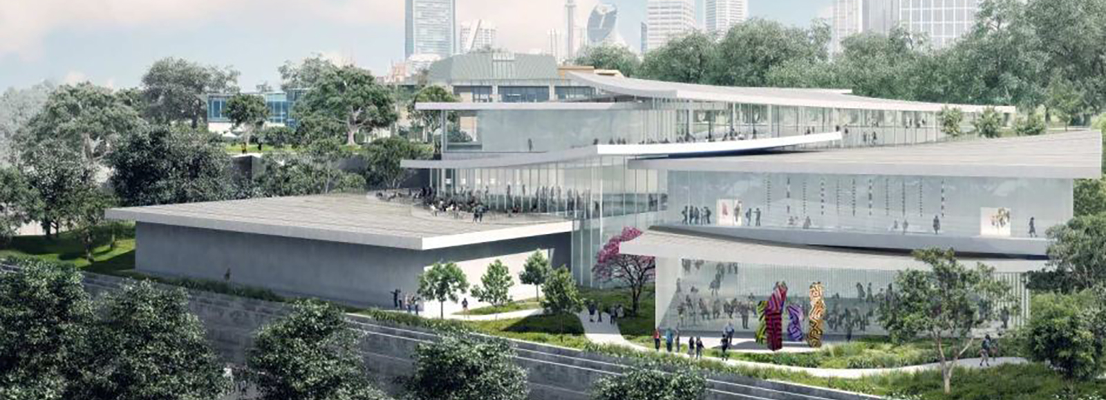 An artist's impression of the Sydney Modern project. Photo: Art Gallery of NSW and SANAA for Sydney Modern expansion