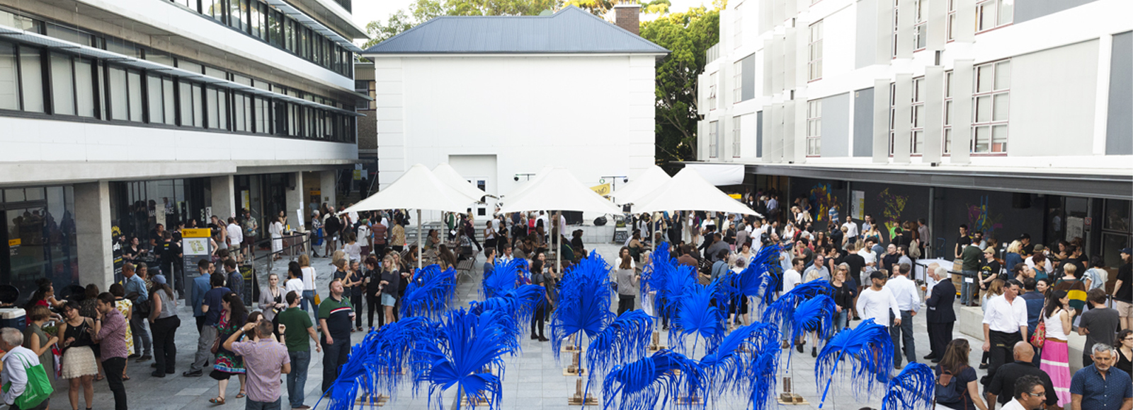 Image: ANNUAL 15 Opening event. Photo: Silversalt