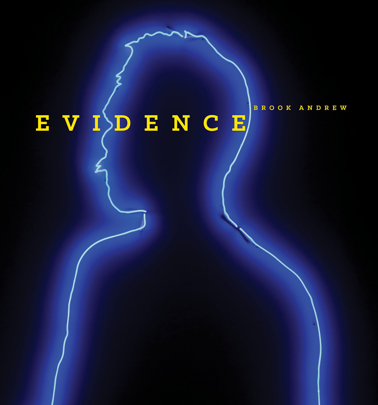 Evidence: Brook Andrew (Publication Cover Detail)