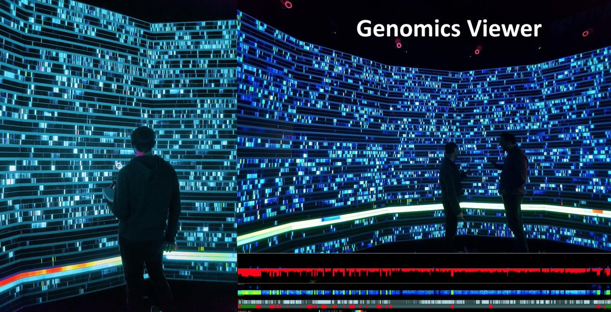 Genomics Viewer at the EPICentre; image supplied.