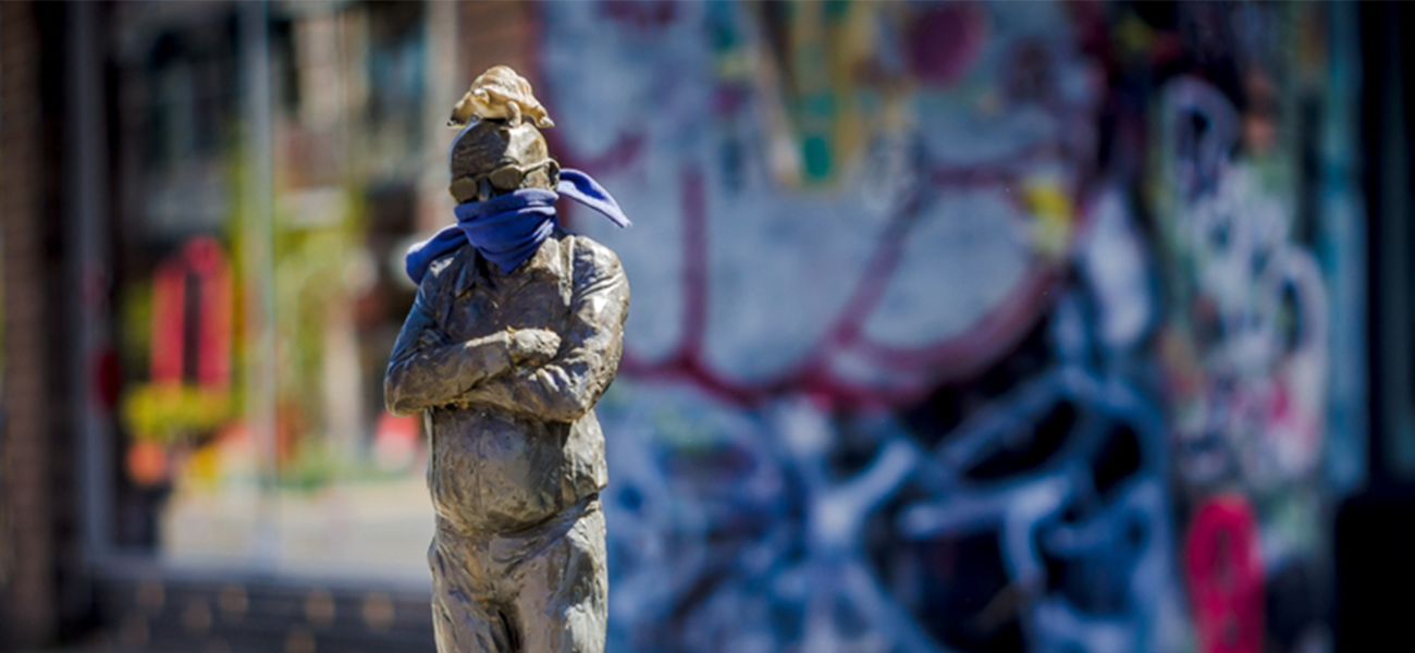 As a curator of contemporary art, Professor Felicity Fenner will be looking for artists' responses to documenting the COVID-19 pandemic as they offer imaginative and alternative perspectives on social issues. Image: Shutterstock.