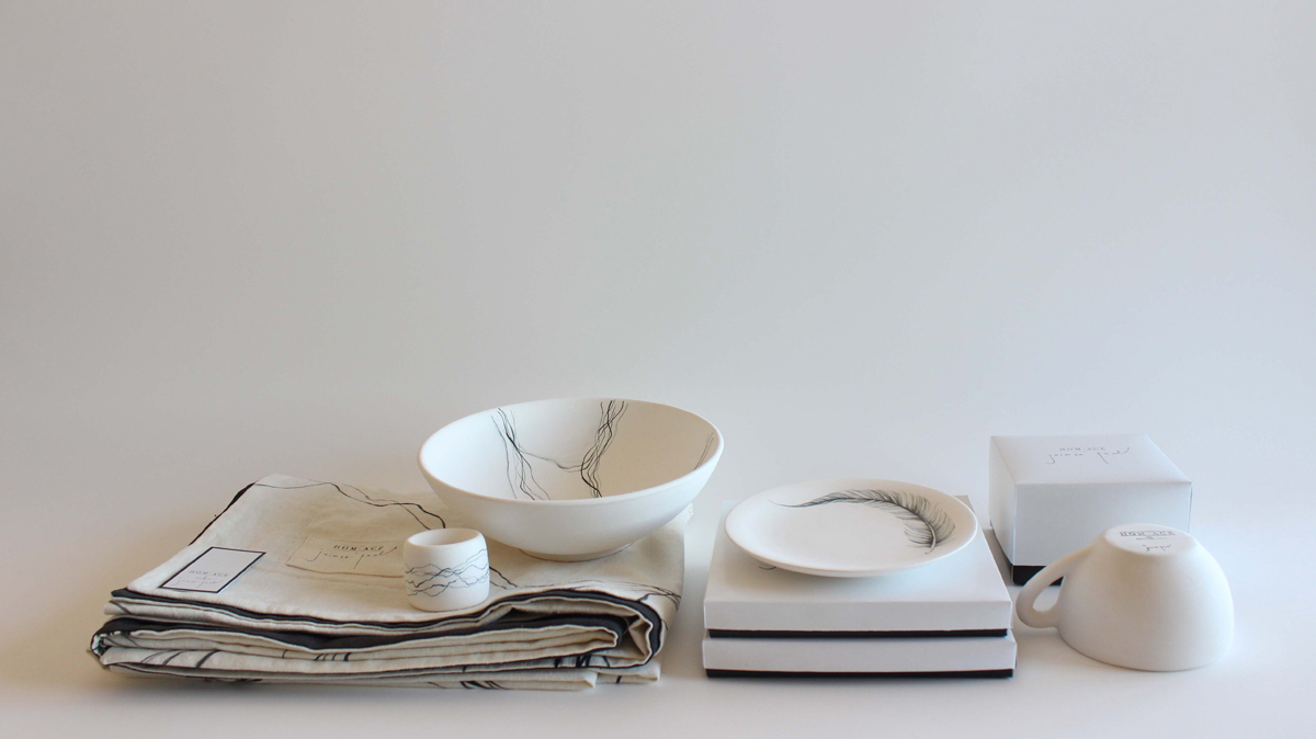 Homage by Jaimee Paul, winner of the Royal Doulton and UNSW Art & Design Award.