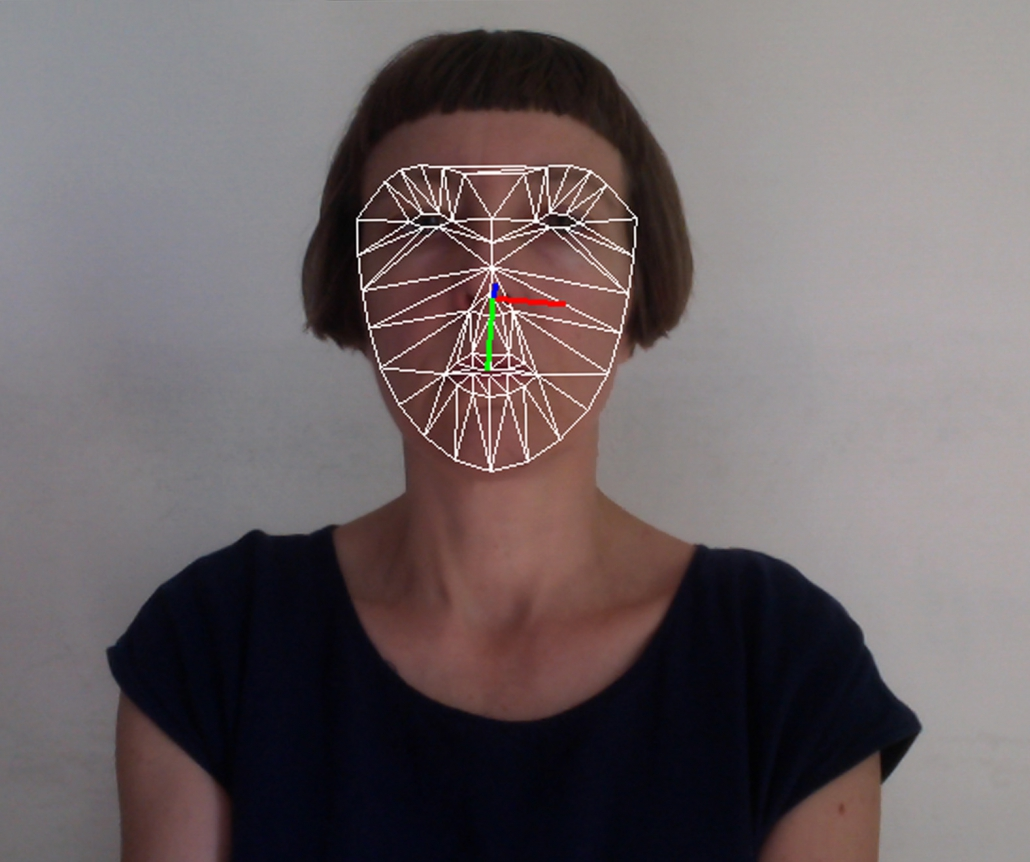 Ms Guffond uses facial recognition algorithms in her sonification projects. Photo credit the artist