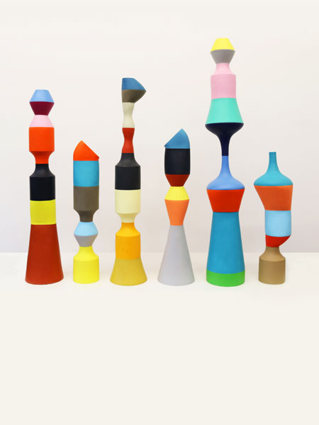 Stephen ORMANDY Totems 2016-2018 resin dimensions variable Courtesy the artist