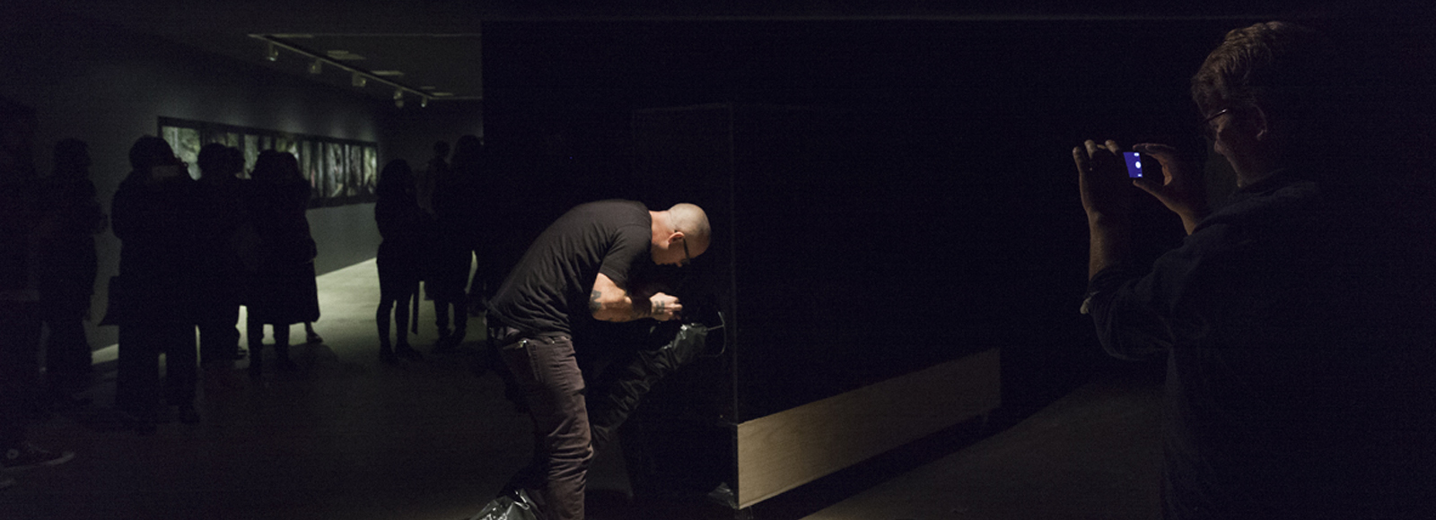 Russell Lowe, Dark Machines- Presence in the Sublime, installation shot. Image by silversalt