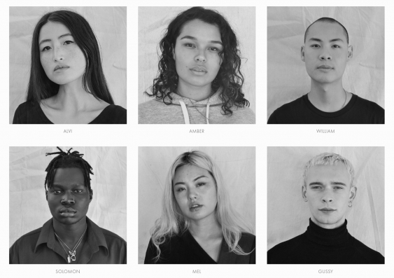 'We're trying to get people of colour and gender diversity and different sizes': Some of the models involved in the launch of Stone Street..jpg