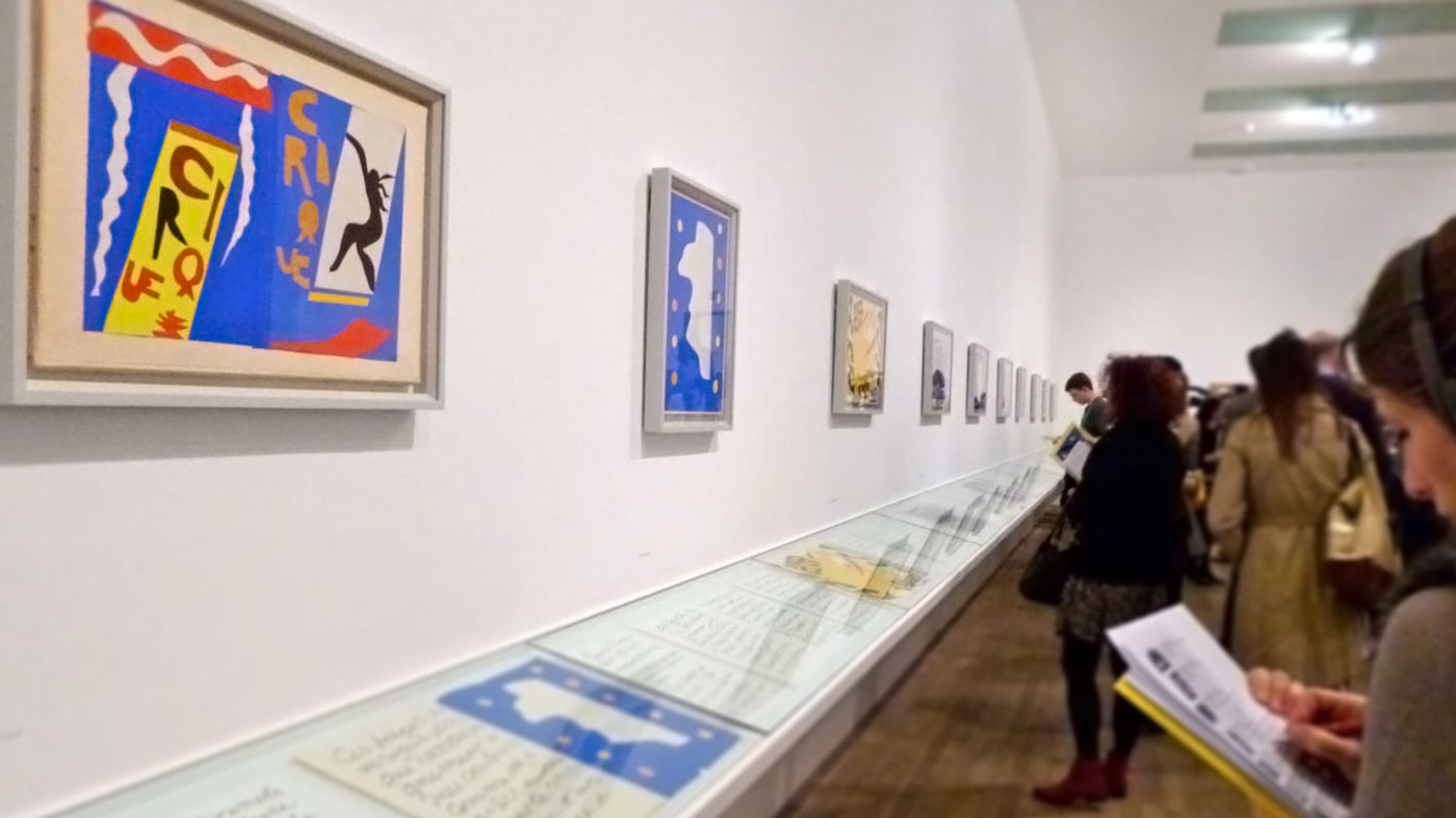 Matisse Cut Out Exhibition at the Tate Modern. Image by Alexandra Alberta.