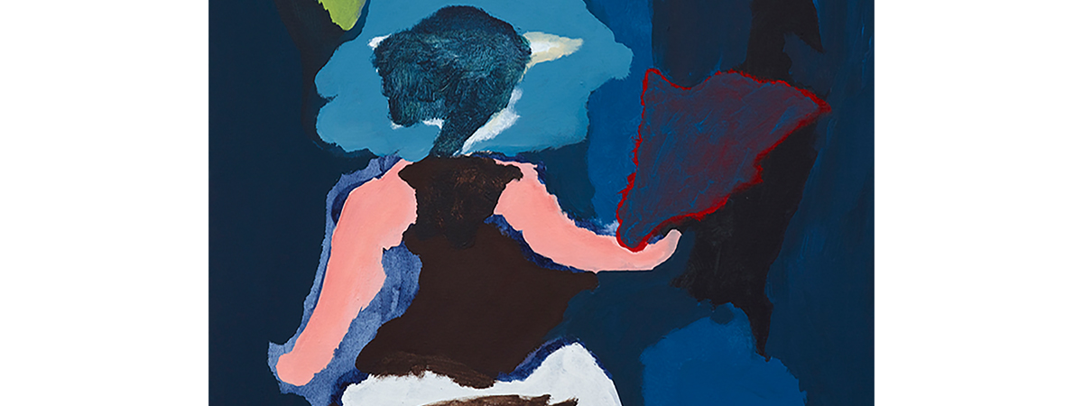 Tom Polo, All she needs (detail), 2014 Acrylic and vinyl acrylic on canvas, Courtesy of Station Gallery, Melbourne. Private Collection, Sydney